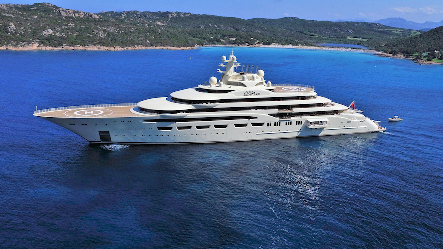 Lürssen – The No. 1 brand for large yachts